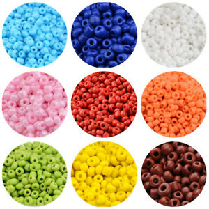 Round-Glass-Seed-Bead-Opaque-Colours-Small-Pony-Spacer-Beads-2-3-4mm