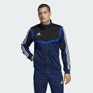 adidas-Tiro-19-Polyester-Mens-Jacket-Bottom-Tracksuit-Tops-Football-Track-Pants