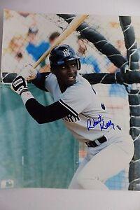 Roberto Kelly NY Yankees Giants Reds Autographed 8x10 MLB Signed Photo 17C