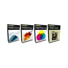 Image Freehand Illustrator Adobe PSD Photoshop CS6 Compatible Software Bundle