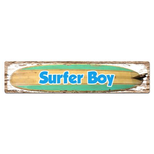 SP0417 Surfer Boy Chic Street Sign Bar Pub Store Shop Cafe Home Wall Decor