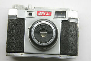 Anny-44-127-Film-Camera-w-Field-Case-Hoei-50mm-f8-Lens-UNTESTED-Vintage-D82