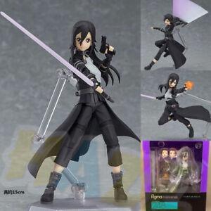 Anime-Figma-248-Sword-Art-Online-SAO-Kirito-GGO-Ver-Figura-Juguete-Coleccion