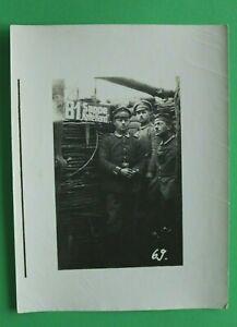 Foto-Schuetzengraben-Offizier-Soldat-1914-18-B1-Sappe-Kalte-Hand-Umhaengelampe-WK
