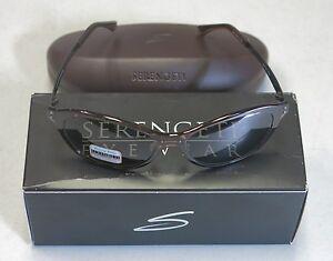 Serengeti Eyewear Sonnenbrille Giustina, Crystal Dark Brown, M, 7826
