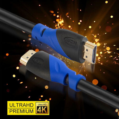 HDMI 2.0 Cable UHD 3D 2160P 4K@60hz Ethernet 1.5ft 3ft 10ft 15ft 25ft 30ft lot