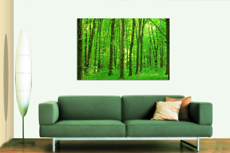 3D Forest Grün 62 Wall Stickers Vinyl Murals Wall Print Decal AJSTORE UK Lemon