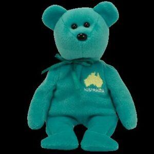 TY-BEANIE-BABIES-ASIA-PACIFIC-EXCLUSIVE-MAPS-034-DOWN-UNDER-034-AUSTRALIA-MWMT