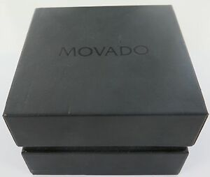 Efficient .vintage Movado Watch Display Box Watches, Parts & Accessories Boxes, Cases & Watch Winders