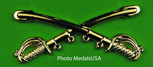 Cavalry-Crossed-Sabers-Large-Hat-Pin-2-1-4-inch-wide
