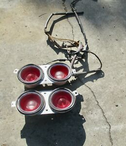 1970-1973 Camaro RIGHT & LEFT Tail Light assembly without ...