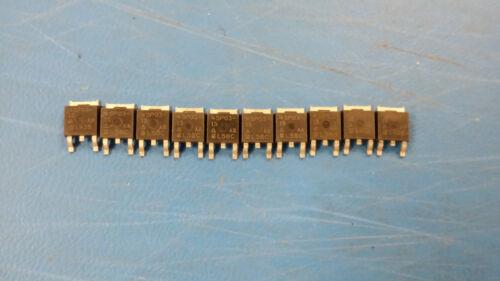 10 PCS DPAK 2+Tab SUD45P03-15 SILICONIX Trans MOSFET P-CH 30V 13A 3-Pin