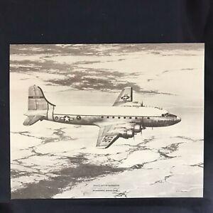 Vintage-McDonnell-Douglas-C-54-Skymaster-Vendor-Aircraft-Print