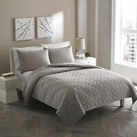 City Scene Moroccan Medallion Stone Cotton 3-piece Quilt Set