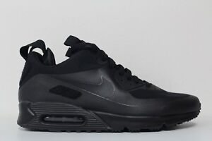 Details about Nike Mens Air Max 90 Sneakerboot SP Patch Black Black 704570 001 Size 12