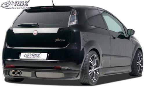 RDX Heckansatz noir mat pour FIAT GRANDE PUNTO