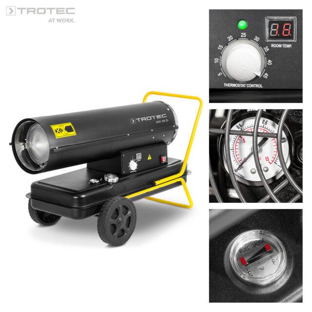 TROTEC IDX 30 D Direkt Ölheizer Heizkanone Heizgerät Bauheizer Zeltheizung 30 kW