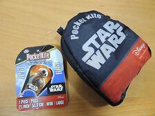 "Pocketkite Star Wars BB-8 Frameless Kite 21"" Wide Nylon in Carrying Pouch"