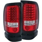 Tail Light Set-LED Red/Clear Anzo 311052