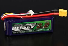 Turnigy Nano-Tech 2200mAh 4S 14.8V 25C 50C Lipo Battery XT60 SUITS 3D Quadcopter