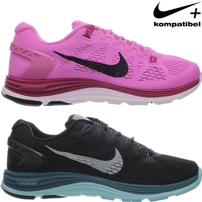 Nike WMNS LUNARGLIDE+ 5 Mujer running Zapatos Zapatos running athletic sneakers black Rosa NEW 6b85e3