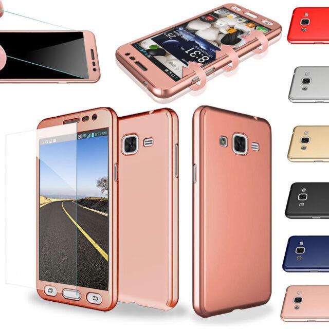 super popular af7e8 db01e Tempered Glass Cover For Samsung Galaxy J2 Prime Shockproof Hard Slim Armor  Case