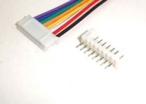 JST-PH-2-0mm-8-Pin-Female-Connector-socket-wire-300mm-Male-Shrouded-Header-x-10