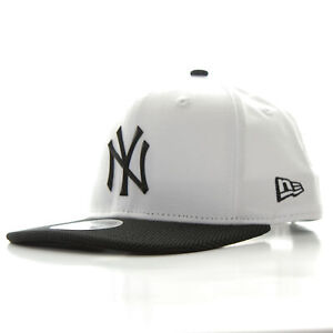 d8377973c73 New Era 9FIFTY Rubber Prime New York Yankees Cap Optic White Black ...