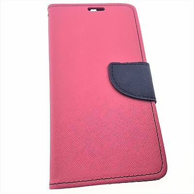 Google Motorola Nexus 6 Quality Leather Flip Wallet Case with Credit Card Slots