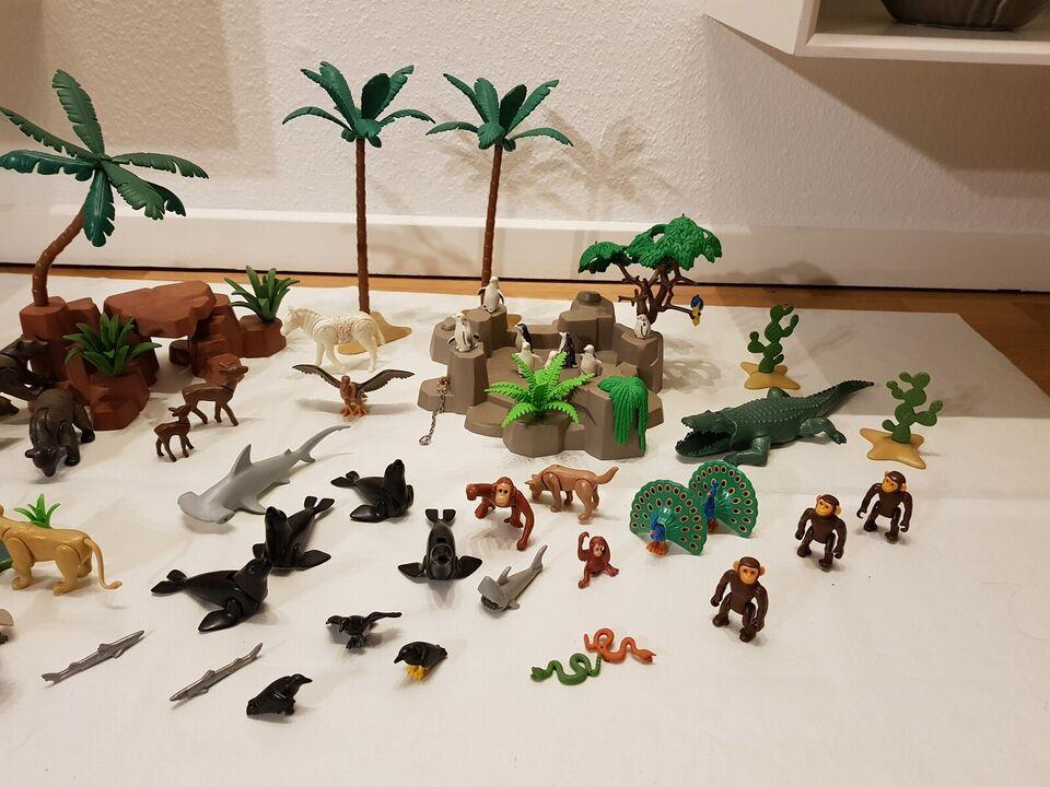 Playmobil, Playmobil div Vilde Dyr og tilbehør.