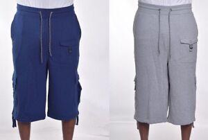 Sean-John-Men-039-s-Athletic-Cargo-Sweat-Shorts-Size-XL