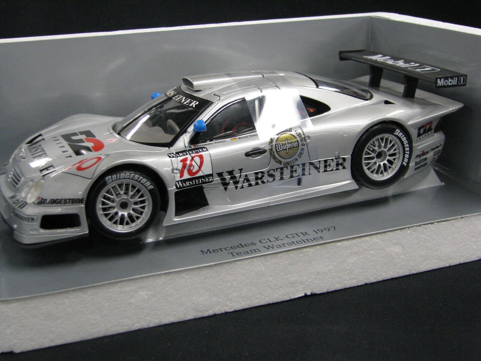 Maisto D2 Mercedes-Benz CLK-GTR 1997 1:18  10 Nannini / Tiemann FIA GT  JS  DV