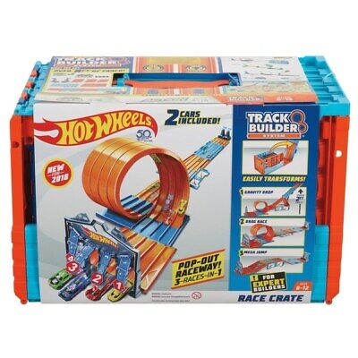 Sistema De Diseñador De Pista Hot Wheels Carrera Cajón Playset coches de juguete
