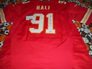Details about TAMBA HALI CHIEFS SIGNED NFL FOOTBALL JERSEY AUTOGRAPHED WITH COA