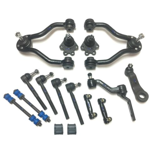 22 Pcs New Front Steering /& Suspension Kit for Chevrolet GMC K1500 Control Arms