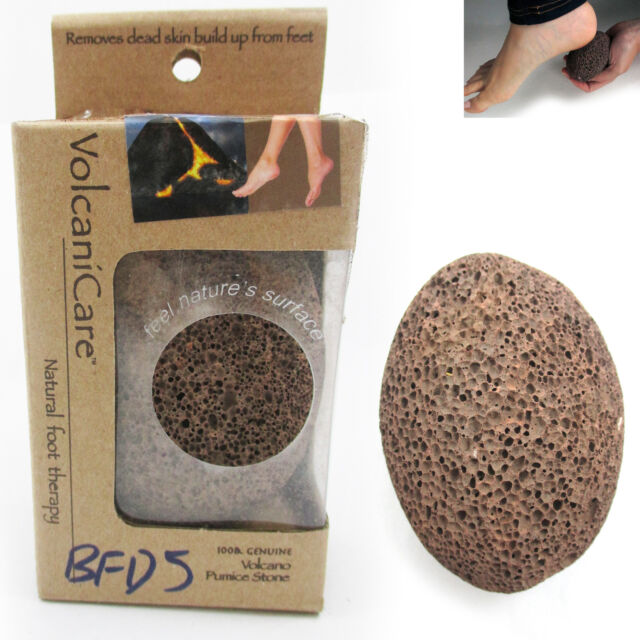 1 Volcanic Lava Pumice Foot Stone Natural Foot Scrub Exfoliate Skin Callus Care