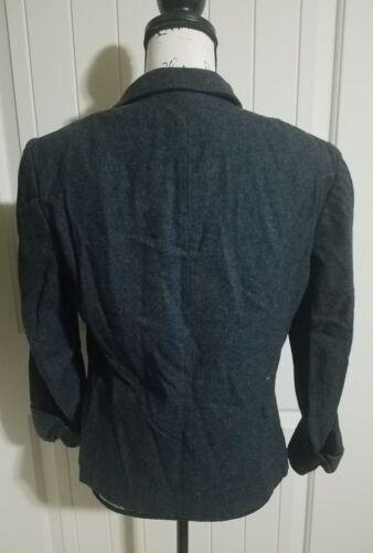 grigio Pendleton blu lana vergine blazer donna 12 100 taglia nTRTrXwOg
