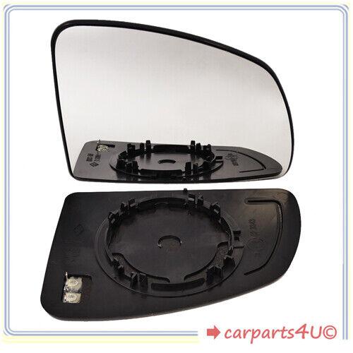 Spiegelglas mit Platte für OPEL MERIVA A 2003-2010 rechts beheizbar konvex