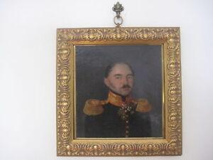 Russian Military Portrait of a Major-General Circa 1835