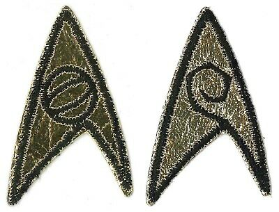 "Star Trek Original TV Series Engineering Insignia Logo 3 1//2/"" Tall Patch"
