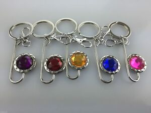 Keyrings Mixed Colours Fancy Key Holders Keychain NEW Wholesale Job ... dde4fc3289c1