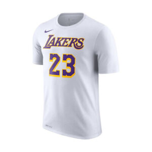 Nike-NBA-Los-Angeles-Lakers-Lebron-James-Drifit-Tee-Hommes-Haut-Blanc-BQ1540-110