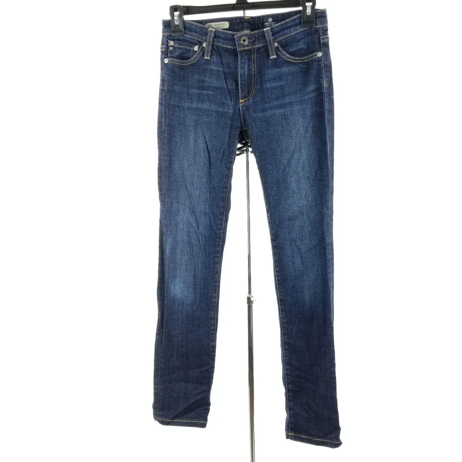 AG Adriano goldschmied Women Jeans Size 25 Premier Skinny Straight