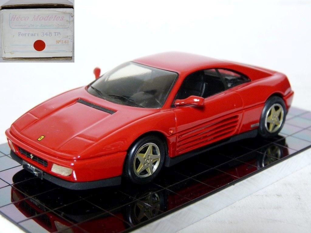 precios mas baratos Heco Heco Heco 143 1 43 1989 Ferrari 348 Tb De Coche Modelo de Resina Hecho a Mano  Con precio barato para obtener la mejor marca.