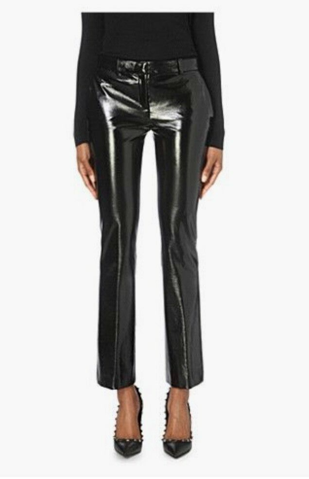 Gianni Versace Faux-leather Pants IT 40  249