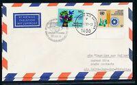 97589)  Ballonpost Canada Richelieu 1991, Brief ab UNO Wien