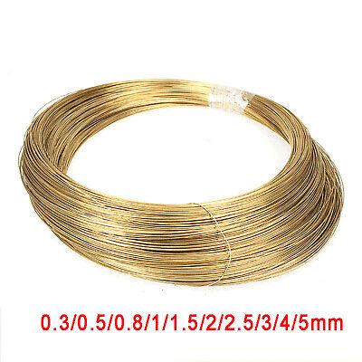 2mm x 150mm Hardware Solid Brass Round Bar Rod Circular Wire Tube Hobbies