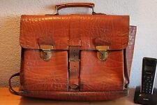 Alter Ranzen Leder Tasche 50er Jahre