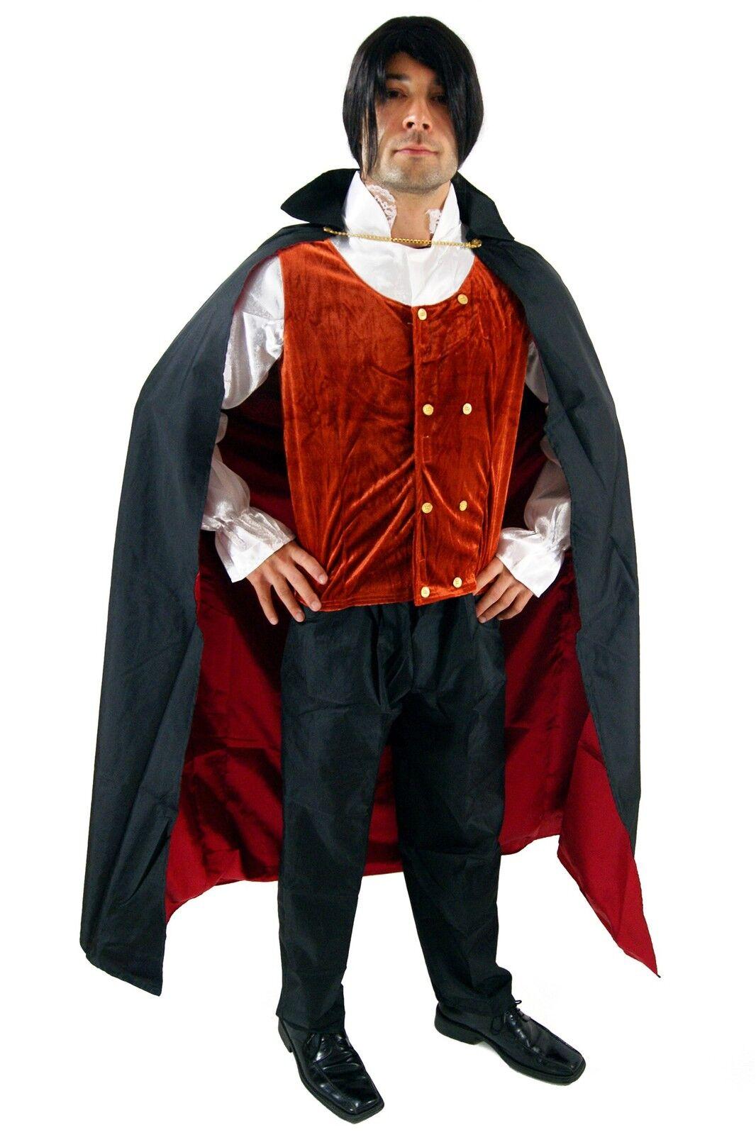 Halloween Kostueme Yatego.Kleidung Accessoires Kostume Verkleidungen Kostum Dracula Vampir Gothic Halloween Herren Transsilvanien Blutsauger K38