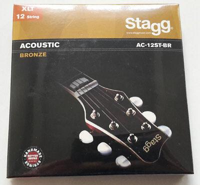 Fire/&Stone 12-String Akustik Western Gitarre Phosphor Bronze Saiten Satz Strings